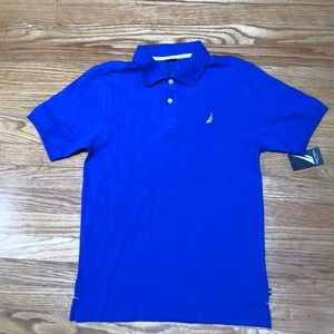 New Nautica Polo Shirt Size L(14-16)
